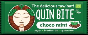 Presna ploščica QUIN BITE - čokolada in meta